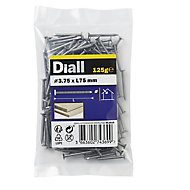 Diall Annular ring nail (L)75mm (Dia)3.75mm 125g, Pack