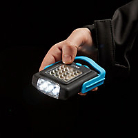 Diall Battery-powered LED Work light 220lm