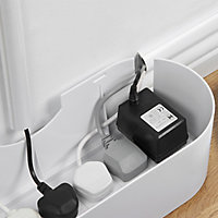 Diall Black Cable tidy, (L)0.33m