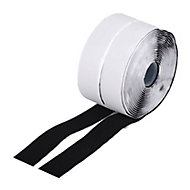 Diall Black Decorative Hook & loop Tape (L)5m (W)30mm