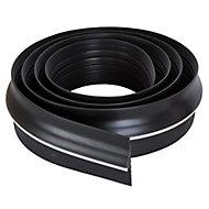 Diall Black Garage Draught seal (L)2.5m (W)75mm