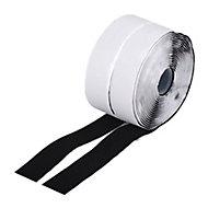 Diall Black Hook & loop Tape (L)5m (W)30mm