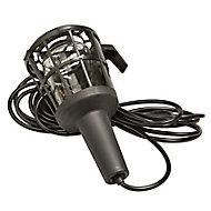 Diall Black Inspection light 60W 220-240V