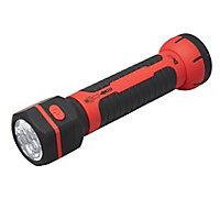 Diall Black & red LED Inspection light 12V 215lm