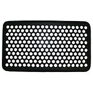 Diall Black Rubber Door mat (L)0.7m (W)0.4m