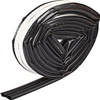 Diall Black Self-adhesive Draught seal (L)6m