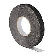 Diall Black Slip resistant Tape (L)15m (W)25mm