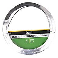 Diall Black Steel Piano wire, (L)12.3m (Dia)1mm