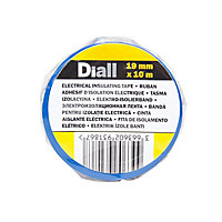Diall Blue Electrical Tape (L)10m (W)19mm