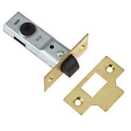 Diall Brass Tubular Mortice latch (L)170mm (W)64mm