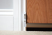 Diall Bronze effect Aluminium Draught excluder, (L)1m