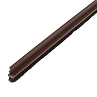 Diall Brown PVC Draught excluder, (L)1.05m