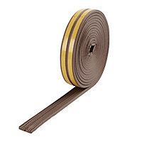 Diall Brown Self-adhesive Draught seal (L)6m (W)9mm (T)4mm