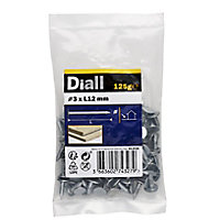 Diall Clout nail (L)12mm (Dia)3mm 125g, Pack