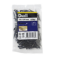 Diall Cut tacks (L)20mm (Dia)6mm 125g, Pack