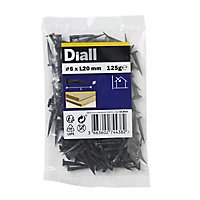 Diall Cut tacks (L)20mm (Dia)6mm 125g, Pack