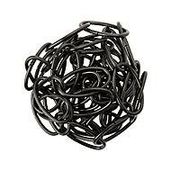 Diall Decorative Black Steel Signalling Chain, (L)1.5 (Dia)2mm