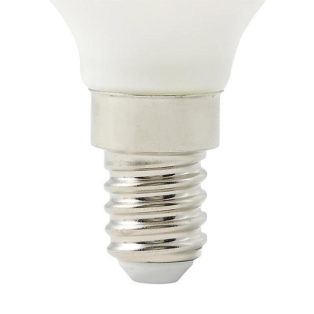 Diall E14 6w 500lm Mini Globe Warm, Warm White Led Outdoor Light Bulbs