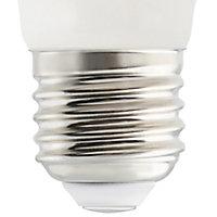 Diall E27 5W 470lm Mini globe Neutral white LED Light bulb
