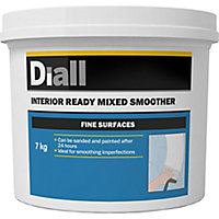 Diall Fine Finish Ready mixed Finishing plaster, 7kg Tub
