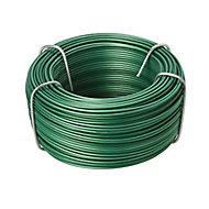 Diall Green PVC & steel Wire, (L)40m (Dia)1.2mm