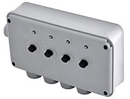 Diall Grey 13A Switched Fused connection unit