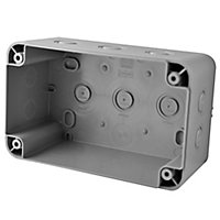 Diall Grey Junction box 111mm