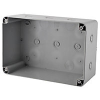 Diall Grey Junction box 180mm