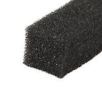 Diall Grey Self-adhesive Garage Draught seal (L)6.5m