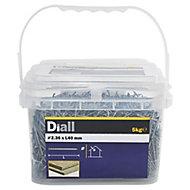 Diall Lost head nail (L)40mm (Dia)2.36mm 5kg, Pack
