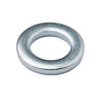 Diall M6 Stainless steel Medium Flat Washer, Pack of 10
