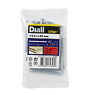 Diall Masonry nail (L)50mm (Dia)3.4mm, Pack