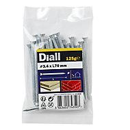 Diall Masonry nail (L)70mm (Dia)3.4mm 125g, Pack