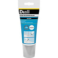 Diall Mould resistant Translucent Kitchen & bathroom Silicone-based Sanitary sealant, 150ml