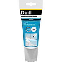Diall Mould resistant White Kitchen & bathroom Silicone-based Sanitary sealant, 150ml