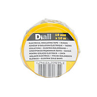 Diall Multicolour Electrical Tape (L)10m (W)19mm