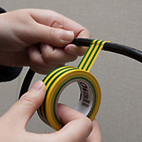 Diall Multicolour Electrical Tape (L)33m (W)19mm