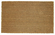 Diall Natural Coir Door mat (L)0.7m (W)0.4m