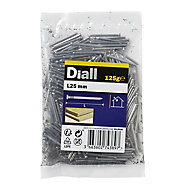 Diall Oval nail (L)25mm 125g, Pack