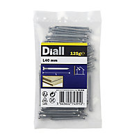 Diall Oval nail (L)40mm, Pack