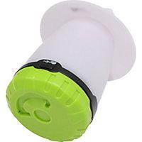 Diall Plastic White Battery-powered LED Lantern
