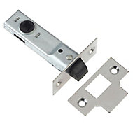 Diall Polished Chrome effect Tubular Mortice latch (L)170mm (W)76mm