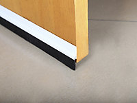 Diall PVC Self-adhesive Draught excluder, (L)1m