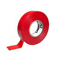Diall Red Electrical Tape (L)33m (W)19mm