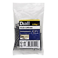 Diall Round wire nail (L)45mm (Dia)2.2mm 125g, Pack