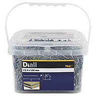 Diall Round wire nail (L)50mm (Dia)2.4mm 5kg, Pack