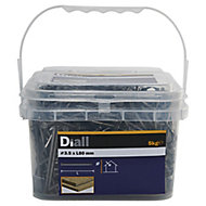 Diall Round wire nail (L)80mm (Dia)3.5mm 5kg, Pack