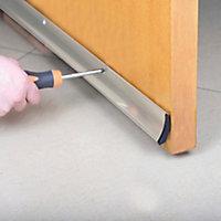 Diall Silver PVC Rain deflector, (L)1000mm