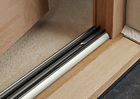 Diall Silver Silver effect PVC Threshold door seal, (L)0.91m