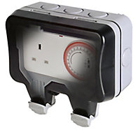 Diall Socket Mechanical daily Timer